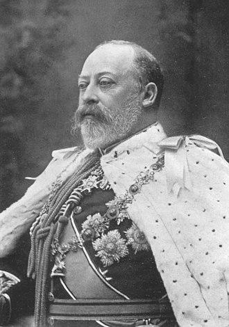 Order of Merit - King Edward VII, founder of the Order of Merit