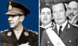 Revolución Libertadora - Image: Eduardo Lonardi y Pedro E Aramburu (Revolución Libertadora)