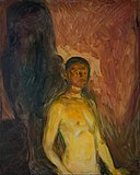 Edvard Munch - Self-Portrait in Hell - Google Art Project.jpg