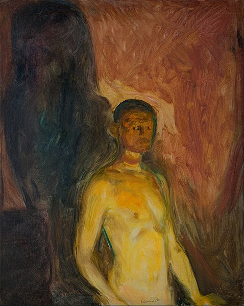 Ficheiro:Edvard Munch - Self-Portrait in Hell - Google Art Project.jpg