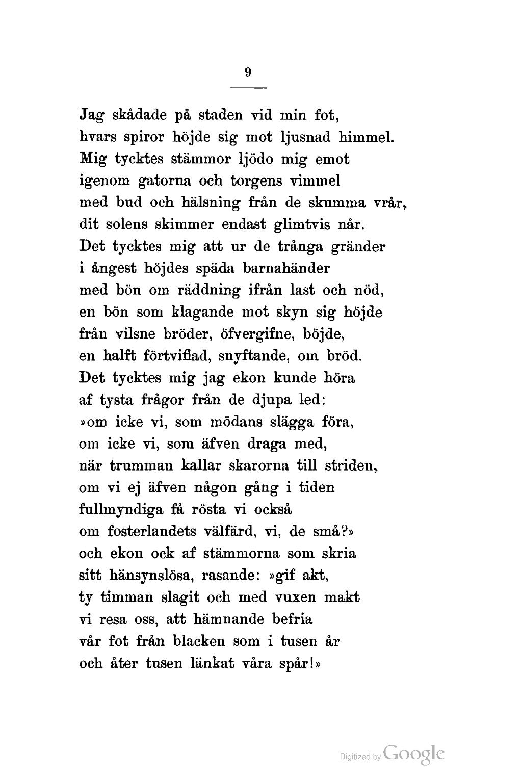 18 års dikter Sida:Efterlemnade dikter.djvu/18   Wikisource 18 års dikter
