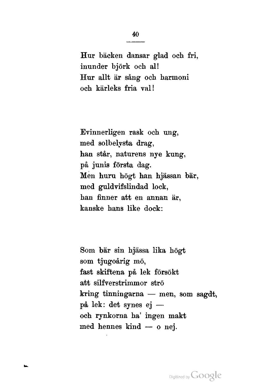kärleks dikter