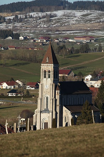 L'église des Longevilles.