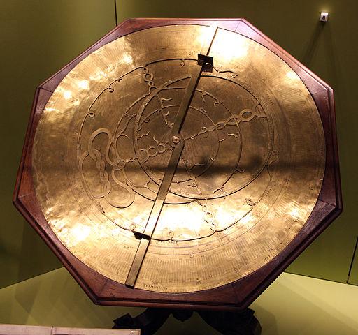 Egnazio Danti o Giovanni Battista Giusti (attr.), astrolabio, Firenze, XVI sec