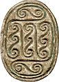 Egyptian - Scarab with Geometric Spirals - Walters 4223 - Bottom (2).jpg