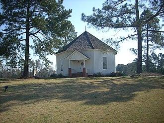 International Pentecostal Holiness Church - The octagonal Falcon Tabernacle was the site of the 1911 merger.