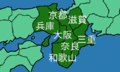 Eight regions of japan5 kinki.png