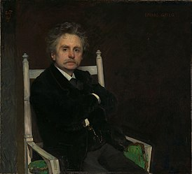 Eilif Peterssen - Portrait of the Composer Edvard Grieg - NG.M.00396 - National Museum of Art, Architecture and Design.jpg