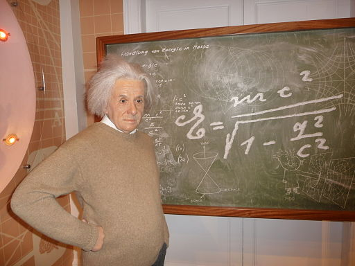 Einstein-Madame-Tussauds-London
