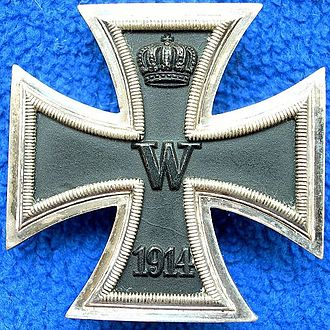 Rudolf Berthold - A First Class Iron Cross from 1914