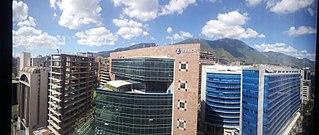 Neighborhood of Caracas, Venezuela