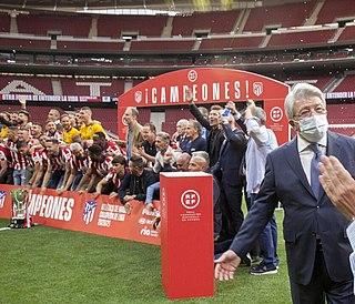 2020–21 Atlético Madrid season 114th season in existence of Atlético Madrid