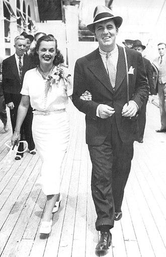 Eleanor Holm - Eleanor Holm and Art Jarrett in 1936