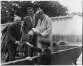 Eleanor Roosevelt with Franklin D. Roosevelt Jr. and Felix Frankfurter in Hyde Park, New York - NARA - 196249.tif