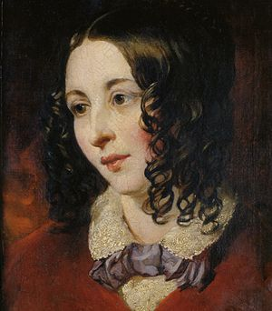 Eliza Cook - Portrait by William Etty, c.1845