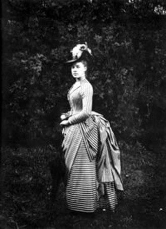 Alice Austen - Austen in a June 1888 photograph by Oswald Müller