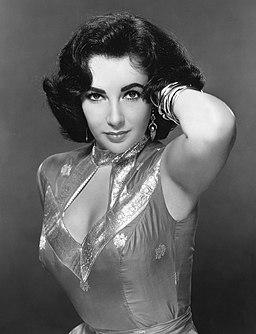 Elizabeth Taylor, late 1950s