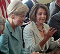 Elizabeth Warren and Leader Pelosi (5958348524).jpg