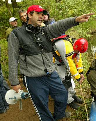 Ellory Elkayem - Elkayem on set during the filming of Without a Paddle: Nature's Calling