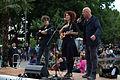 Eloui und Christoph Mateka - Fest für den Rundfunk Karlsplatz 2014 03 Alexander Goebel.jpg
