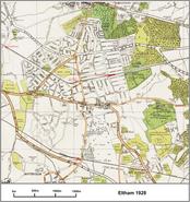 Eltham map 1928