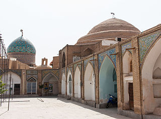 Imamzadeh Esmaeil and Isaiah mausoleum mausoleums in Isfahan, Iranian national heritage site