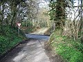 Emerging on to the A260 - geograph.org.uk - 366127.jpg