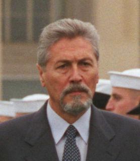 Emil Constantinescu Romanian professor and politician