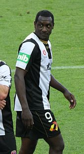 e5752303e0 Heskey playing for Newcastle Jets in 2012