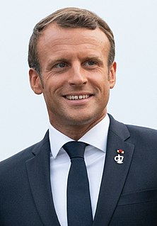 Emmanuel Macron 25th President of the French Republic