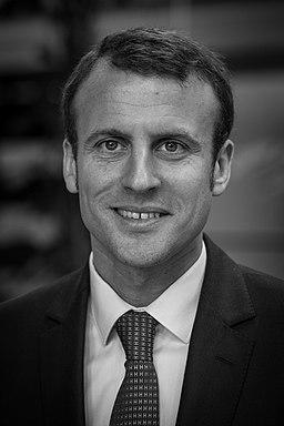 Emmanuel Macron par Claude Truong-Ngoc avril 2015