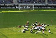 Enke Trauerfeier Stadion