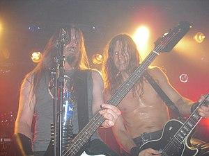 Enslaved (band) - Enslaved performing live in Oslo in October 2012