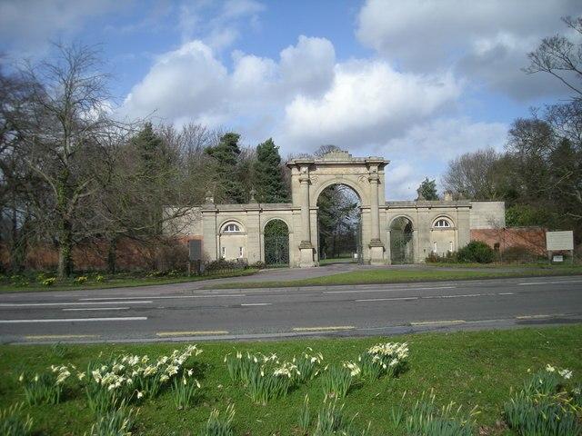 Entrance to Attingham Park