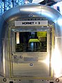 Entrance to the Apollo 11 Mobile Quarantine Facility at the Steven F Udvar-Hazy Center in 2009.jpg