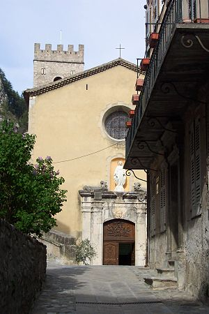 Roman Catholic Diocese of Glandèves - Entrevaux Cathedral