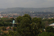 A picture of a panorama of the Nigerian city of Enugu which is considered the Igbo capital