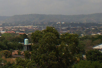 Igboland - Enugu, the capital city of the old Eastern Region of Nigeria.