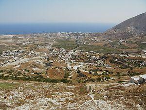 Episkopi Gonias - SE view from Episkopi Gonias.