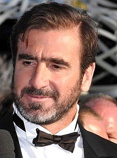 Eric Cantona French actor and association football player