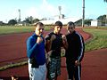 Eric Castaños, Yoislandy Izquierdo and Carlitos Finales.jpg