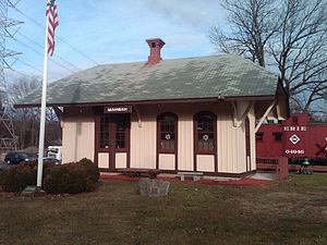 Mahwah station - The 1871 depot, now a museum