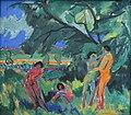 Ernst Ludwig Kirchner Spielende nackte Menschen 1910-1.jpg
