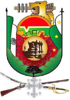 Español: Escudo de Iguala de la Independencia,...