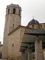 Església Arxiprestal de Sant Mateu, des del carrer de Sant Bernat.jpg