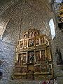 Església d'Oskotz - retaule amb sant Cristòfol i Sant Miquel P1270364.jpg