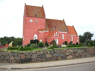 Eskilstrup - Eskilstrup Church, Falster