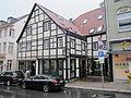 Essen-Werden Brueckstrasse 49-53 Hufergasse 2–4 SO.jpg
