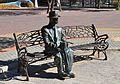 Estàtua de l'enginyer Francisco Mira i Botella a Guardamar del Segura.JPG