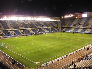 Estadio Riazor multi-purpose stadium in A Coruña, Galicia, Spain